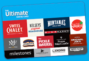 Purchase the Ultimate Dining Card ®